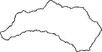 山梨県北都留郡小菅村(こすげむら)の白地図無料ダウンロード