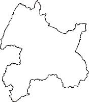 長野県長野市(ながのし)の白地図無料ダウンロード
