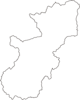 長野県上田市(うえだし)の白地図無料ダウンロード