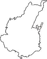 長野県小諸市(こもろし)の白地図無料ダウンロード