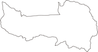 長野県駒ヶ根市(こまがねし)の白地図無料ダウンロード