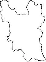 長野県中野市(なかのし)の白地図無料ダウンロード