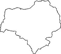 長野県千曲市(ちくまし)の白地図無料ダウンロード