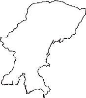 長野県東御市(とうみし)の白地図無料ダウンロード