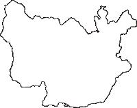 長野県安曇野市(あづみのし)の白地図無料ダウンロード