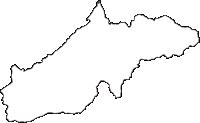 長野県南佐久郡小海町(こうみまち)の白地図無料ダウンロード