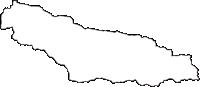 長野県南佐久郡南相木村(みなみあいきむら)の白地図無料ダウンロード