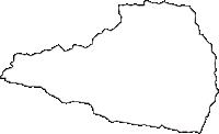 長野県南佐久郡北相木村(きたあいきむら)の白地図無料ダウンロード