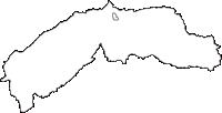 長野県南佐久郡佐久穂町(さくほまち)の白地図無料ダウンロード
