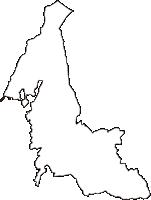 長野県北佐久郡御代田町(みよたまち)の白地図無料ダウンロード