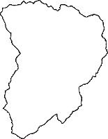 長野県小県郡青木村(あおきむら)の白地図無料ダウンロード