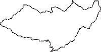 長野県上伊那郡箕輪町(みのわまち)の白地図無料ダウンロード