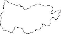 長野県上伊那郡飯島町(いいじままち)の白地図無料ダウンロード