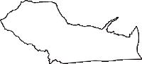 長野県上伊那郡宮田村(みやだむら)の白地図無料ダウンロード