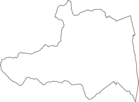 長野県下伊那郡松川町(まつかわまち)の白地図無料ダウンロード