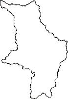 長野県下伊那郡平谷村(ひらやむら)の白地図無料ダウンロード