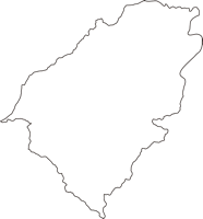 長野県下伊那郡下條村(しもじょうむら)の白地図無料ダウンロード