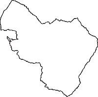 長野県下伊那郡喬木村(たかぎむら)の白地図無料ダウンロード
