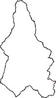 長野県下伊那郡大鹿村(おおしかむら)の白地図無料ダウンロード