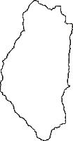 長野県木曽郡木祖村(きそむら)の白地図無料ダウンロード