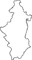 長野県東筑摩郡生坂村(いくさかむら)の白地図無料ダウンロード
