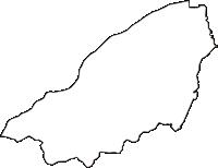 長野県東筑摩郡山形村(やまがたむら)の白地図無料ダウンロード