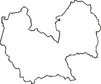 長野県東筑摩郡筑北村(ちくほくむら)の白地図無料ダウンロード