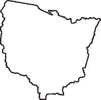 長野県北安曇郡白馬村(はくばむら)の白地図無料ダウンロード