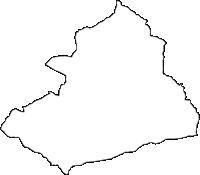長野県埴科郡坂城町(さかきまち)の白地図無料ダウンロード