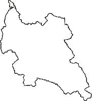 岐阜県多治見市(たじみし)の白地図無料ダウンロード