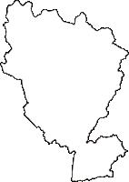 岐阜県瑞浪市(みずなみし)の白地図無料ダウンロード