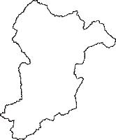 岐阜県下呂市(げろし)の白地図無料ダウンロード