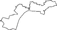 岐阜県羽島郡笠松町(かさまつちょう)の白地図無料ダウンロード