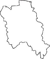 岐阜県養老郡養老町(ようろうちょう)の白地図無料ダウンロード