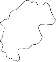 岐阜県安八郡輪之内町(わのうちちょう)の白地図無料ダウンロード