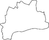 岐阜県加茂郡坂祝町(さかほぎちょう)の白地図無料ダウンロード