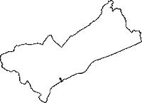 静岡県静岡市駿河区(するがく)の白地図無料ダウンロード