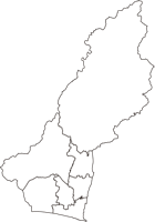 静岡県浜松市浜松市(はままつし)の白地図無料ダウンロード