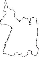 静岡県浜松市浜北区(はまきたく)の白地図無料ダウンロード