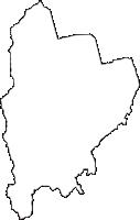 静岡県富士宮市(ふじのみやし)の白地図無料ダウンロード