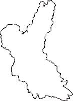 静岡県島田市(しまだし)の白地図無料ダウンロード