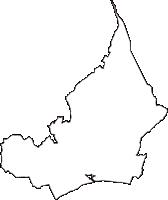 静岡県富士市(ふじし)の白地図無料ダウンロード