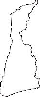 静岡県磐田市(いわたし)の白地図無料ダウンロード