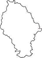 静岡県藤枝市(ふじえだし)の白地図無料ダウンロード