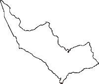 静岡県裾野市(すそのし)の白地図無料ダウンロード
