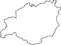 ���������������������������������の白地図無料ダウンロード
