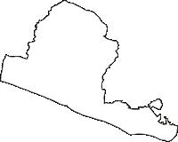 静岡県御前崎市(おまえざきし)の白地図無料ダウンロード