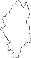 静岡県菊川市(きくがわし)の白地図無料ダウンロード