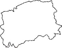静岡県伊豆の国市(いずのくにし)の白地図無料ダウンロード