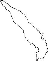 静岡県駿東郡長泉町(ながいずみちょう)の白地図無料ダウンロード